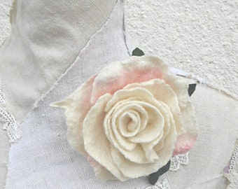 Felted Broche