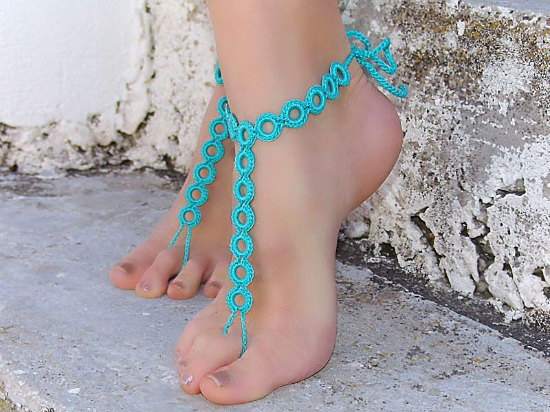 il zoom crochet foot listing sg yoga nude shoes en black barefoot fullxfull sandals anklet