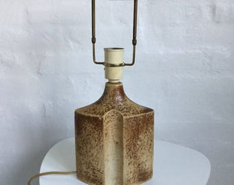 Beautiful Danish Ceramic Lamp Base Made By Soeholm Ceramic   A Classic  Danish Company   Beautiful