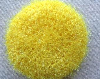 Terry crochet Tawashi, sponge, 6 color choices