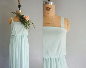 vintage Lost in a Dream mint dress | vintage mint green dress