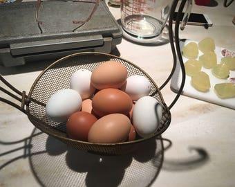 Hand-Blown Farm Eggs
