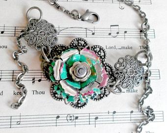 Sale Recycled Arizona Tea Bracelet Upcycled Jewelry Recycled Soda Can Trending Jewelry Sale Jewelry Girlfriend Gift Women R40