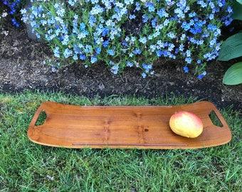 Fabulous Maison Gourmet surfboard teak serving tray - Denmark