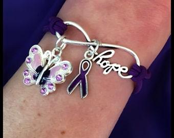 Cure Hope Lupus Awareness Infinity Hope Bracelet