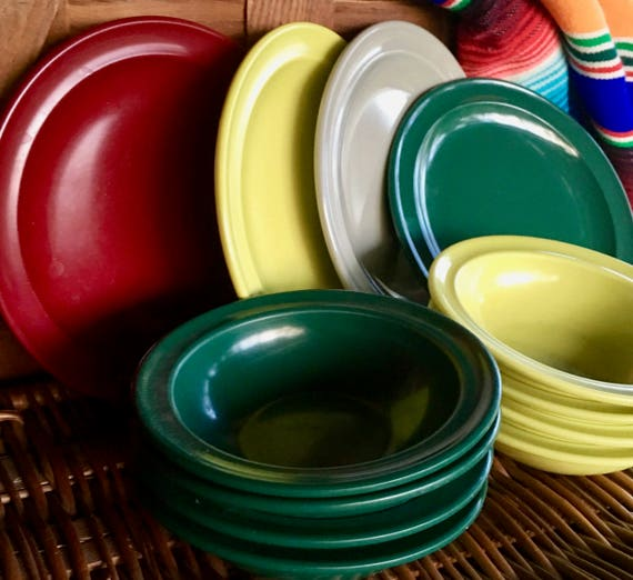 & Vintage Picnic Dishes Lightweight and Durable Prolon Florence