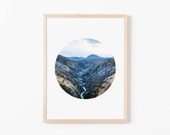 Mountain Scene II Nursery Art. Nursery Wall Art. Nursery Prints. Nursery Decor. Boy Wall Art. Adventure Nursery. Mountain Wall Art.
