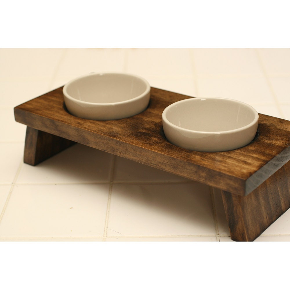 bamboo elevated solid cat pet lepetco stores lepet bowl com ceramic amazon on with feeder stand