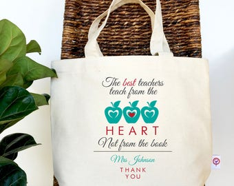 The Heart...Teacher Tote Bag