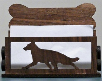 Business card holders with dogs