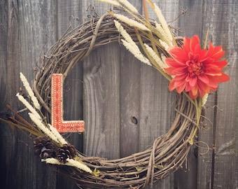 Fall rustic wreath