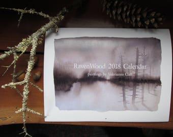 RavenWood 2018 Calendar
