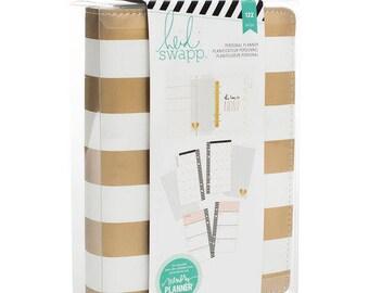 Heidi Swapp Memory Planner Kit - Gold Foil Stripes