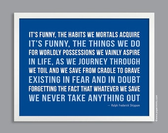 Custom Quote Print, Inspirational Quote, Custom Text, Modern Print, Personalized Print, Custom Wall Art