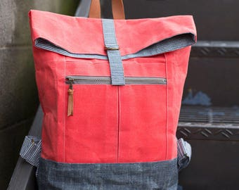 Range Backpack by Noodlehead - Paper pattern