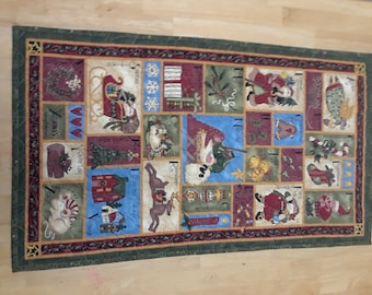 Christmas Wall hanging Quilted