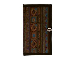 Passport holder Travel wallet Travel organizer Passport wallet Passport organizer Passport case Patchwork wallet African print wallet