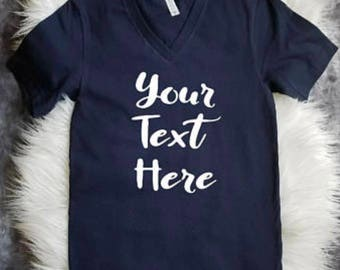 Custom womens T shirt