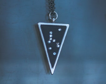 Perseus Necklace, Triangle Constellation, Hero, Rescue, Crystals, Trine, Stars  Lucky Star Dreams