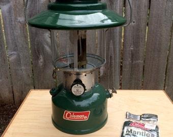 Coleman Lantern, Vintage Coleman Lantern, Model 228F, Coleman, Camping Gear, Gas Lantern, Survivalist Gear, Camping