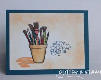 Do Something Creative Card