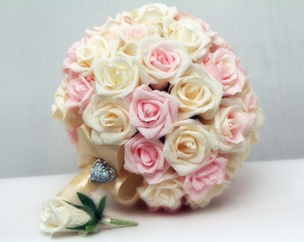 wedding bouquet, paper wedding bouquet, bridal bouquet wedding, wedding flower bouquets, vintage bouquet wedding, handmade paper flower