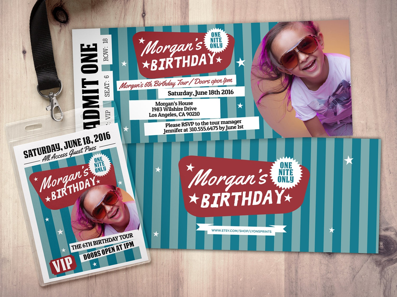 Pop star rock star concert ticket birthday party invitation music pop star rock star concert ticket birthday party invitation music invitation printable rockstar party pop star karaoke party stopboris Choice Image