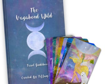 The Vagabond Wild Tarot Deck + Guidebook