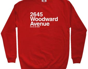 Detroit Hockey Stadium Sweatshirt - Men S M L XL 2x 3x - Crewneck, Motor City Shirt, Arena, Fan, Sports, Gift - 4 Colors