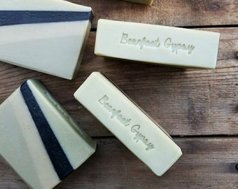 Goats Milk Soap - Sweet Marjoram Patchouli  - Natural Soap - Palm Free Soap - Cold Process Soap - Handmade Soap