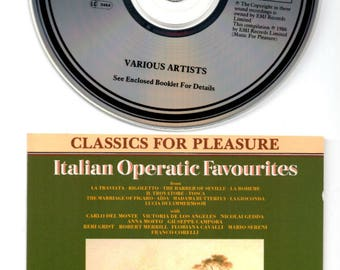 Italian Operatic Favourites CD