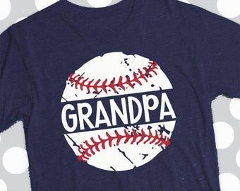 Baseball Grandpa svg, Baseball svg, distressed Baseball, clip art, dxf, eps, png, grunge svg, svgs, iron on, baseball team, clipart
