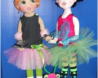 Bug! ~ Cloth Doll E-Pattern by Judi Ward