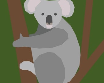 Koala - Paper Piecing