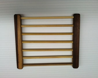 HANDMADE Walnut Wood Cooling Rack.