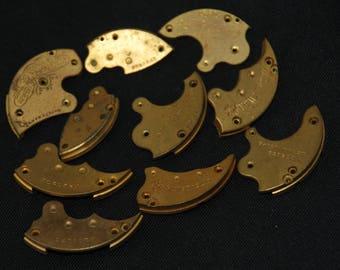 Destash Steampunk Watch Clock Parts Movements Plates Art Grab Bag RD 70