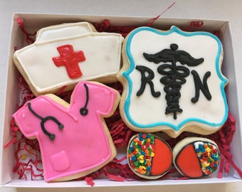 Nurse & Doctor Thank You or Get Well Gift Set