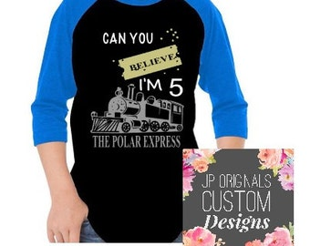 The Polar Express Birthday Shirt