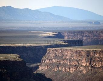 Rio Grande Gorge - Landscape - New Mexico Landscape - Taos Landscape - Fine Art Photography