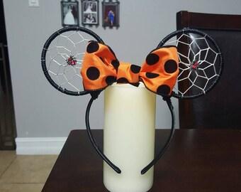 Halloween Dreamcatcher Ears, spider ears, ghost ears, witch ears, Halloween ears, halloween mouse ears