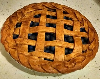 Faux Blueberry Pie