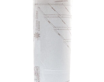 "Quiltsmart Lone Star 58"" Fusible Printed Interfacing Single Panel Off the Bolt"