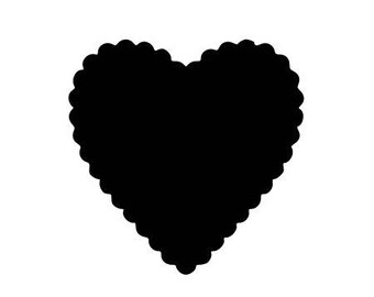 Fusible heart lace pattern