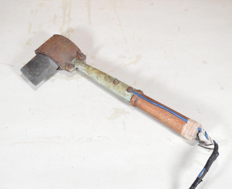 soldering iron soldering tool copper tool copper