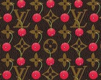 Louis Vuitton Cherry Fabric