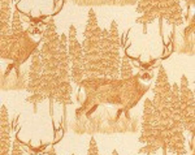 Woods, Water & Wildlife Outdoor Nature Cotton Fabric by Granola Girls for Troy Corporation