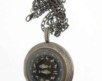 Pisces Locket & Gift bag, Astrology Locket, Necklace, Pisces Necklace, Pisces Jewellery, Locket, Jewelry, Star, Neptune, Jewellery, Jewelry