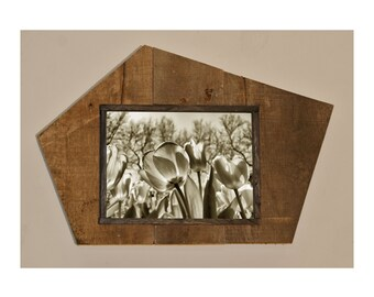 5x7 Picture Frame - Reclaimed Wood