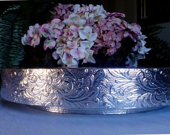"Wedding Cake Stand ""Floral Leaf"", 14"", 16"", 18"", 20"", and 22"" Cake Stand"