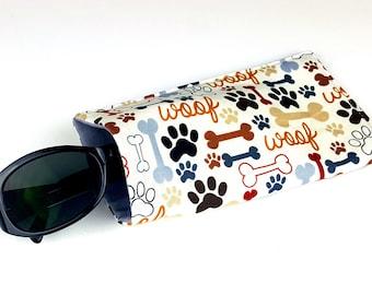 Sunglasses Case - Doggie Paws